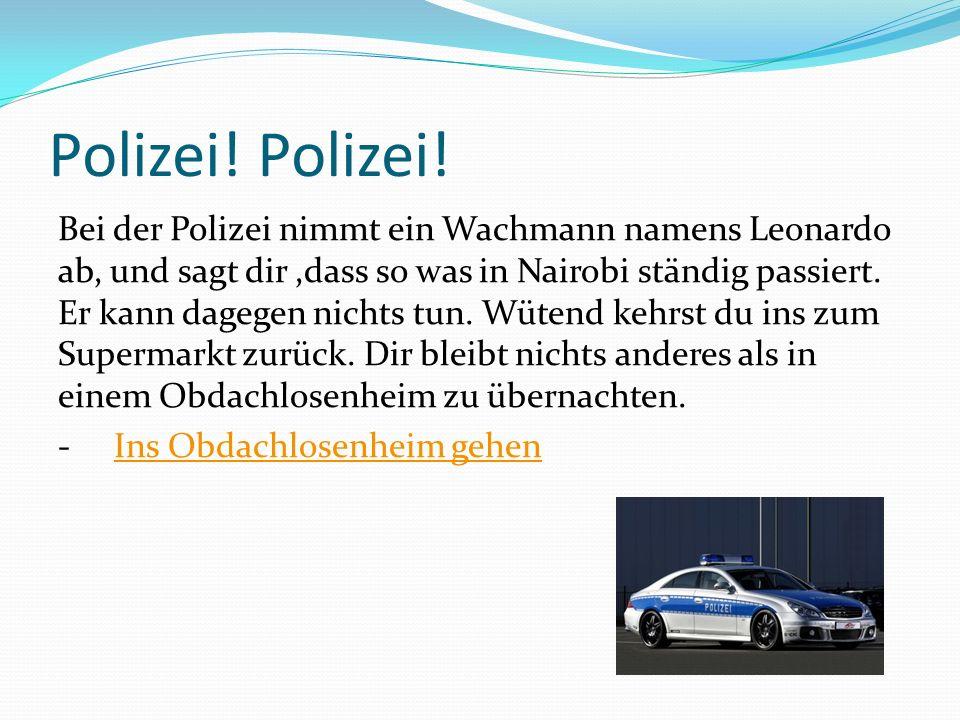 Polizei.