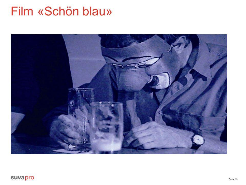 Seite 18 Film «Schön blau»