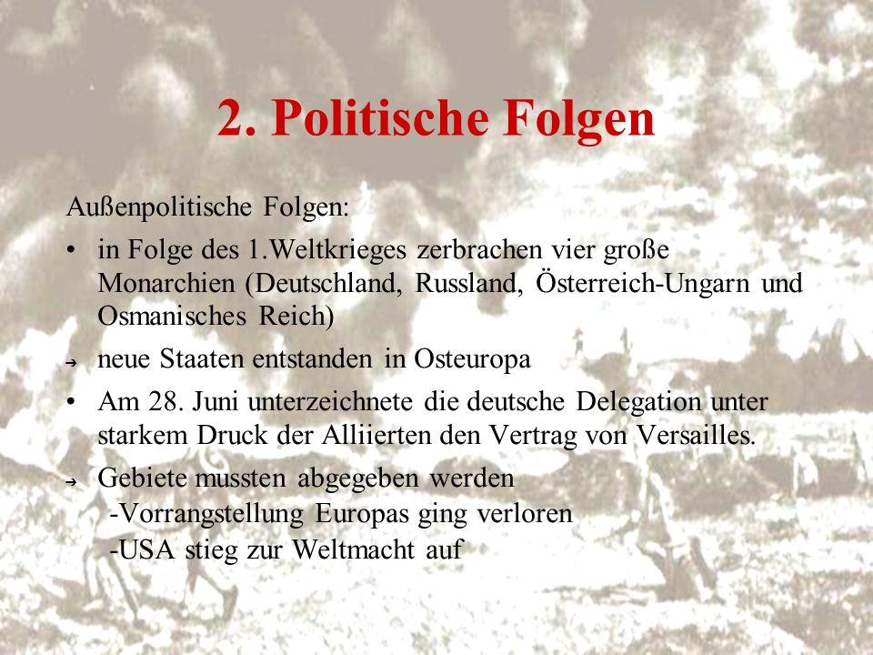 Pariser Vorortsverträge 4) Friedensvertrag von Trianon -bestimmte 1920 die Aufteilung des Königreichs Ungarn -> der mit Österreich abgeschlossene Vertrag von St.