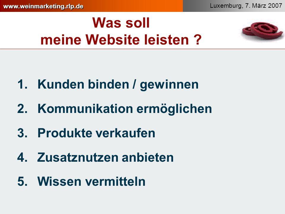 www.weinmarketing.rlp.de Was soll meine Website leisten .