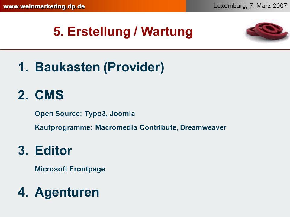 www.weinmarketing.rlp.de Luxemburg, 7.März 2007 5.