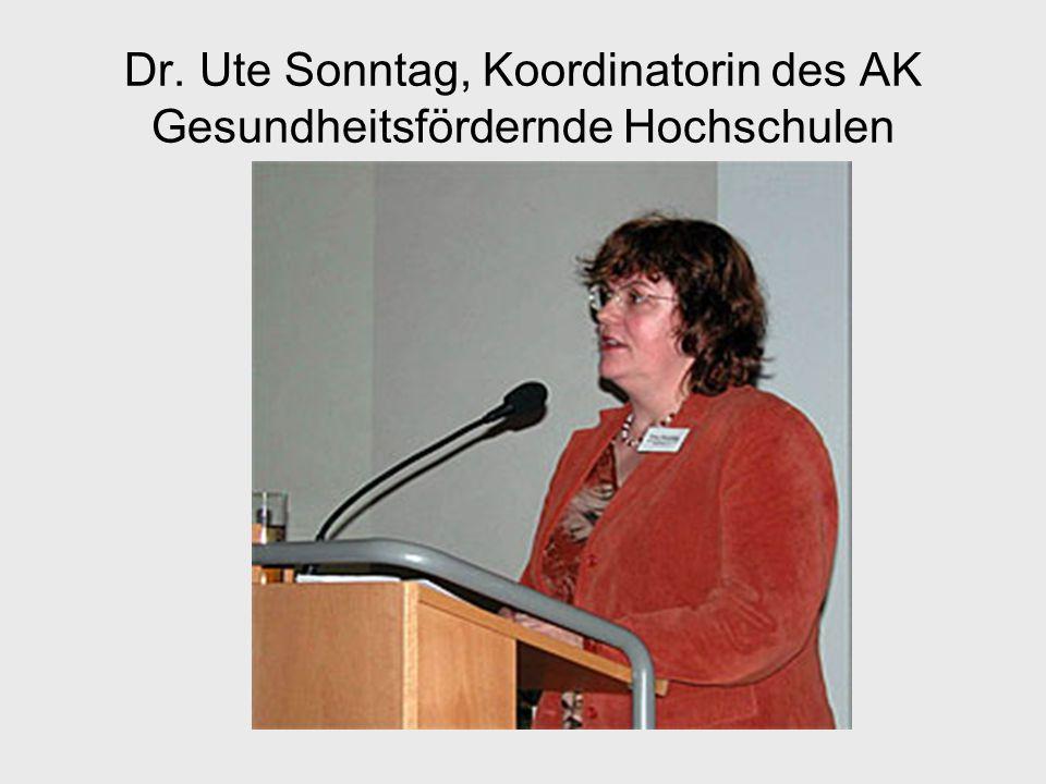Gütekriterien Gesundheitsfördernder Hochschulen 4.