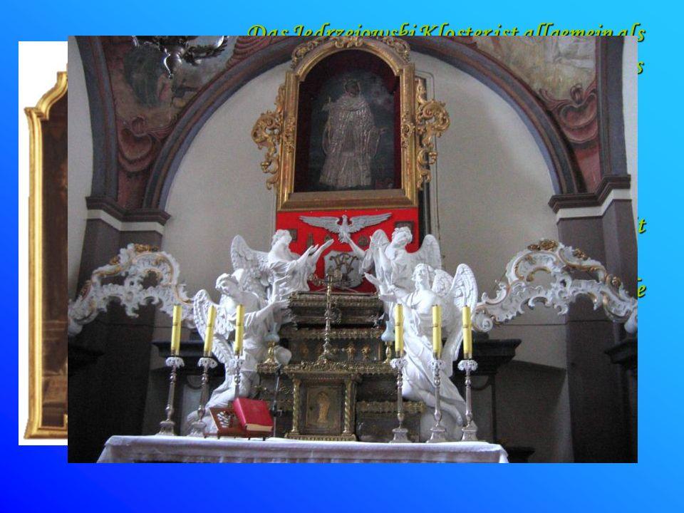 Das Jędrzejowski Kloster ist allgemein als Ort der ewigen Ruhestätte und Kultes des gesegneten Wincenty Kadłubek, der die letzten fünf Jahren seines L