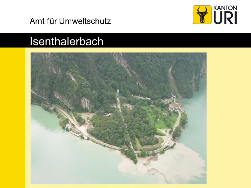 Amt für Umweltschutz Isenthalerbach