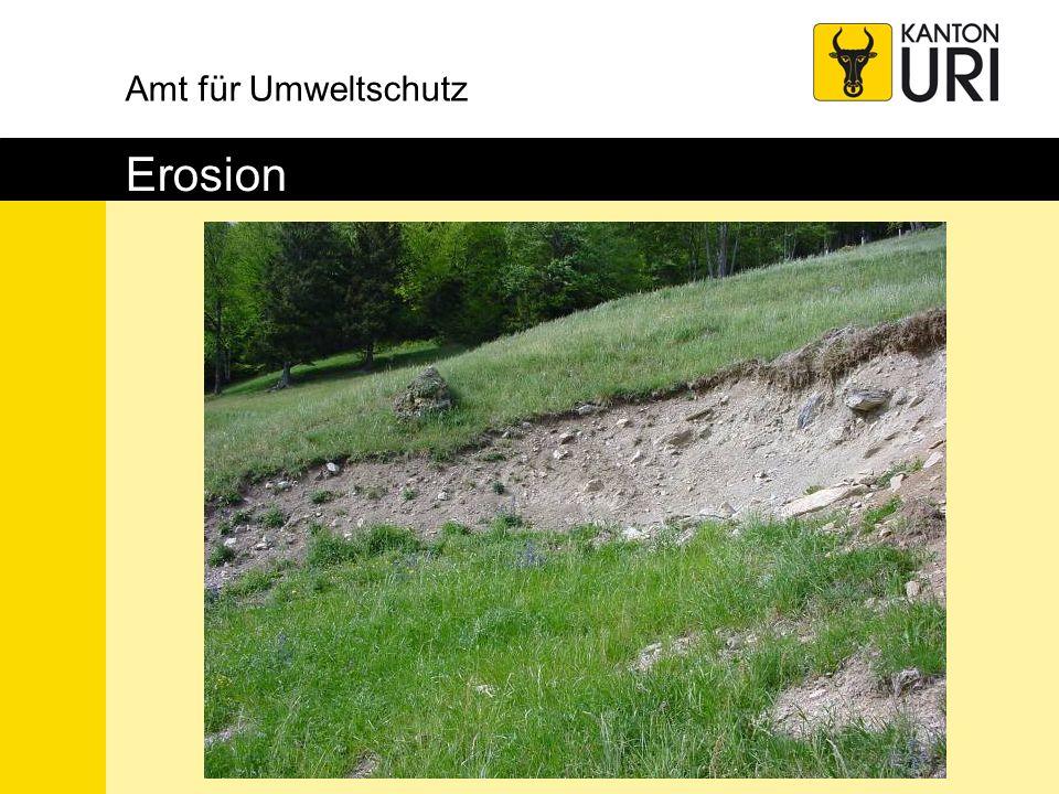 Amt für Umweltschutz Erosion