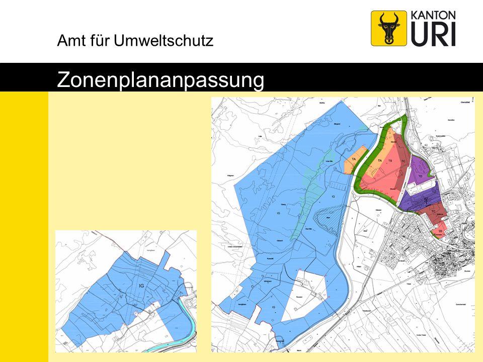Amt für Umweltschutz Zonenplananpassung