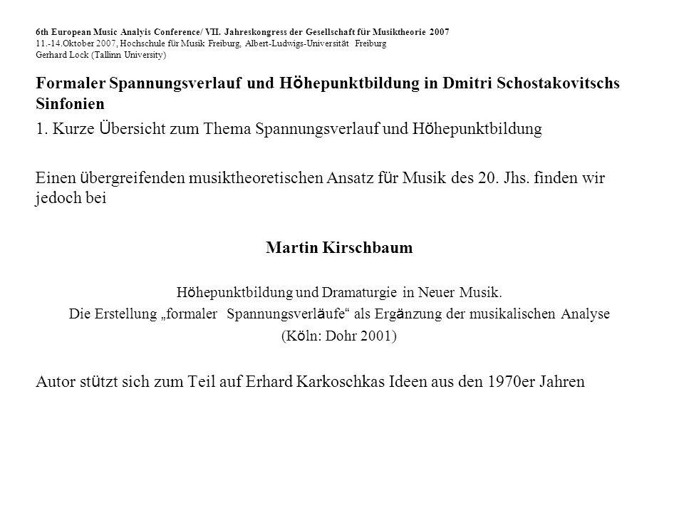 Beginn des Fugato - Takt 104-125 6th European Music Analyis Conference/ VII.