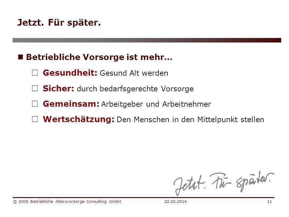 22.02.2014 © 2005 Betriebliche Altersvorsorge Consulting GmbH12 Das Projekt… Regionale Vorsorgelösung durch VRG für Tirol & Vorarlberg Was ist das.
