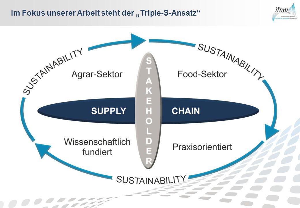 Im Fokus unserer Arbeit steht der Triple-S-Ansatz