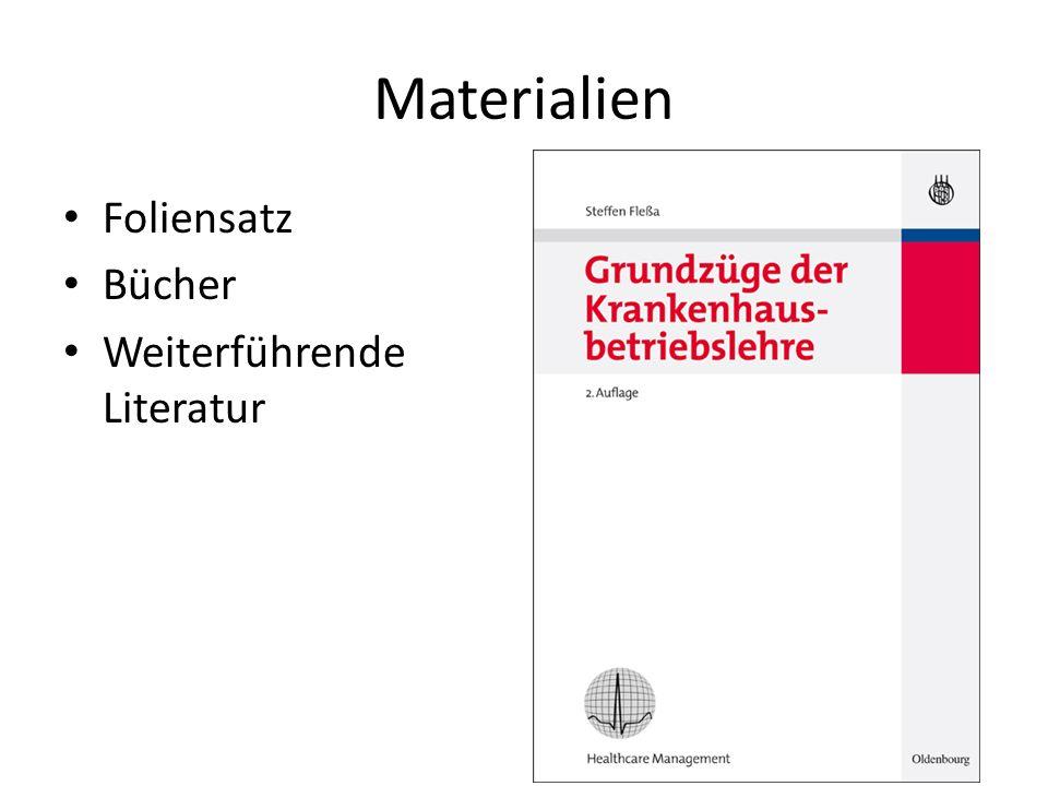 Materialien Foliensatz Bücher Weiterführende Literatur