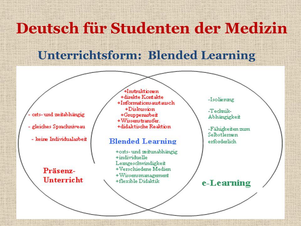 Unterrichtsform: Blended Learning