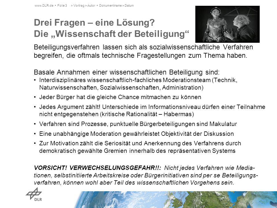Ein positives Fallbeispiel: Lokale Energiezukunft Rottweil-Hausen Hintergründe: Ausschreibung Förderprogramm Lebensgrundlagen, Umwelt und Soziales Baden-Württemberg (BW-PLUS) zur Finanzierung (380.000 Euro) Interdisziplinäres Forschungsteam: ZSW, DLR, UNI Stuttgart Lokaler Kontext: Ausgehend von einer erfolgreichen lokalen Etablierung der BHKW- Technologien schlugen frühe Versuche einer ökologischen Energie- versorgung auf Basis erneuerbarer Energien in den 80er Jahren fehl (Holzvergasungsanlage).