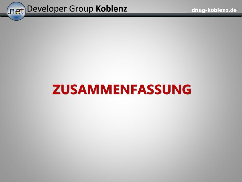 dnug-koblenz.de ZUSAMMENFASSUNG