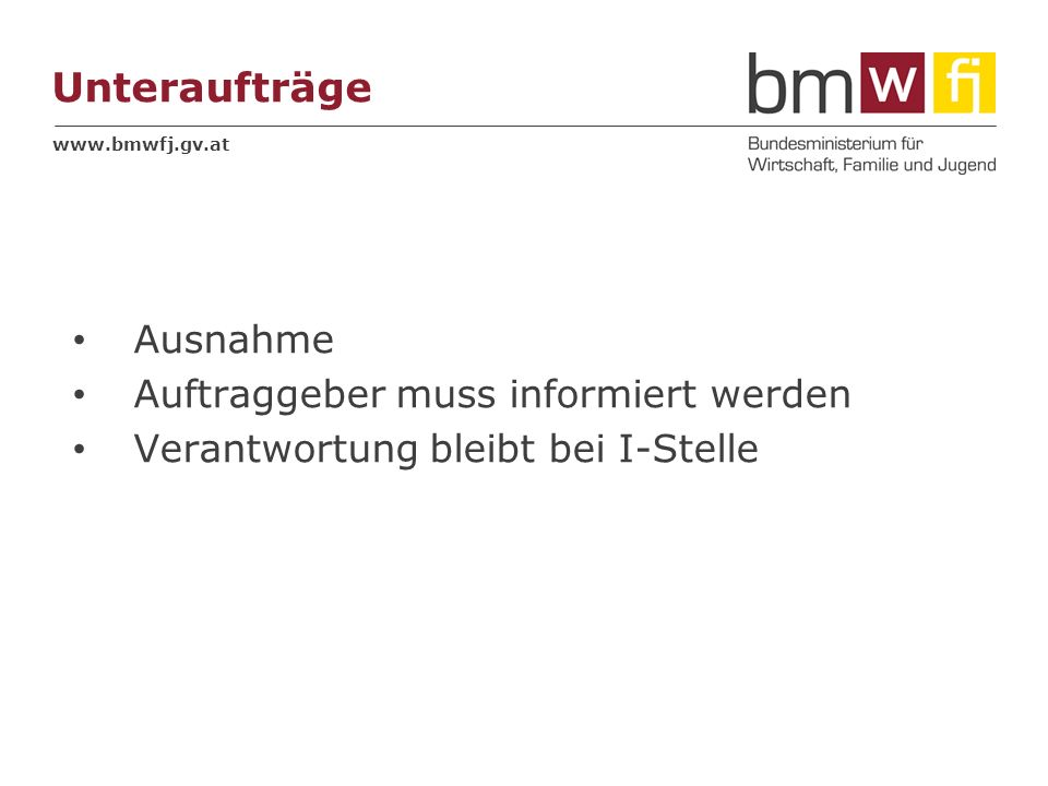 www.bmwfj.gv.at Inspektionsberichte Alternativen zu Unterschriften Inspektionsbericht - Inspektionsbescheinigung