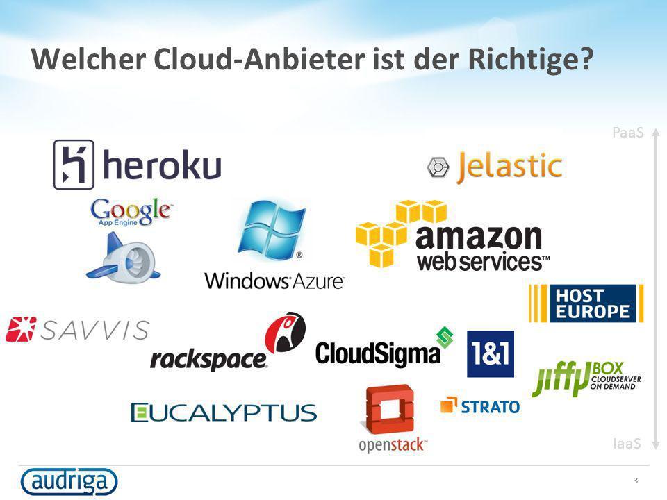 Welcher Cloud-Anbieter ist der Richtige? 3 PaaS IaaS