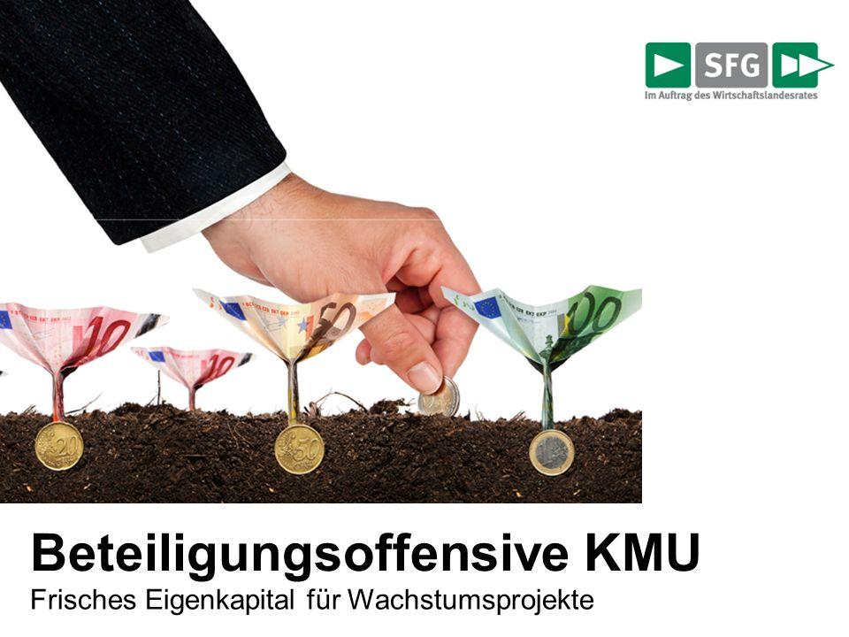 Beteiligungsoffensive KMU Frisches Eigenkapital für Wachstumsprojekte