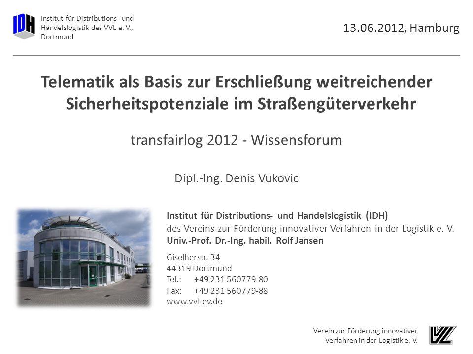 Institut für Distributions- und Handelslogistik des VVL e.