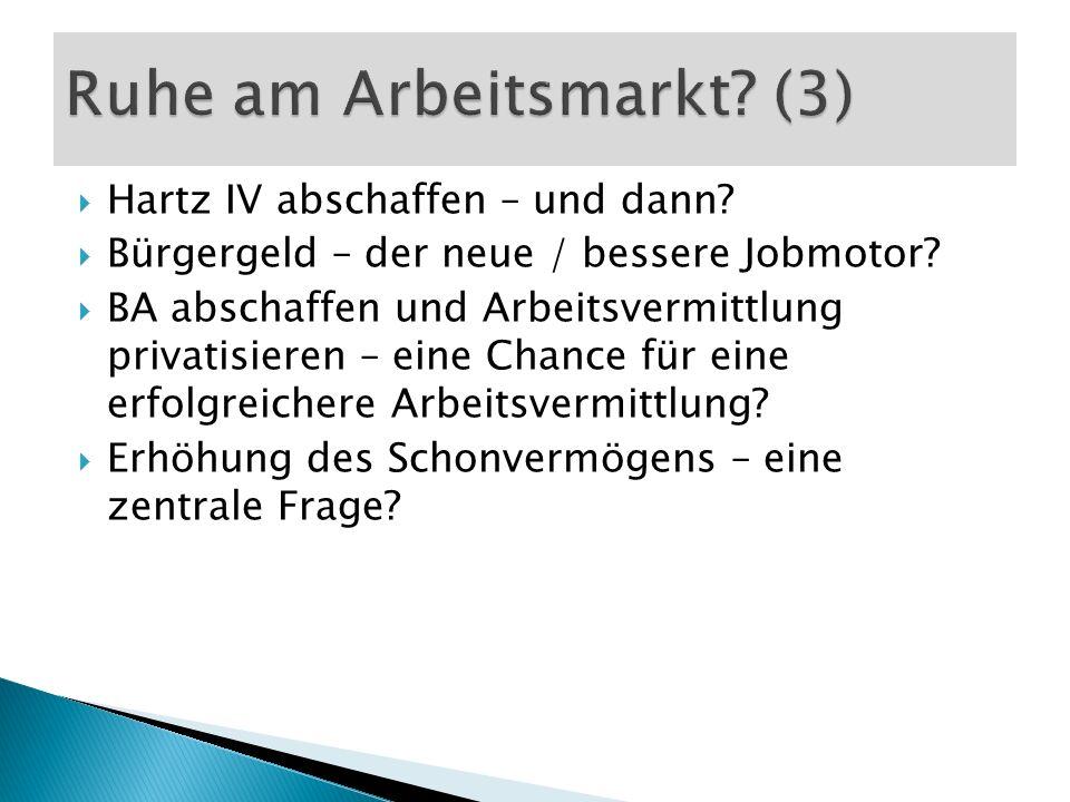 Hartz IV abschaffen – und dann. Bürgergeld – der neue / bessere Jobmotor.