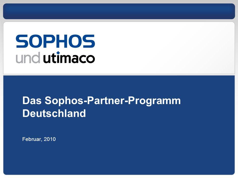 Das Sophos-Partner-Programm Deutschland Februar, 2010