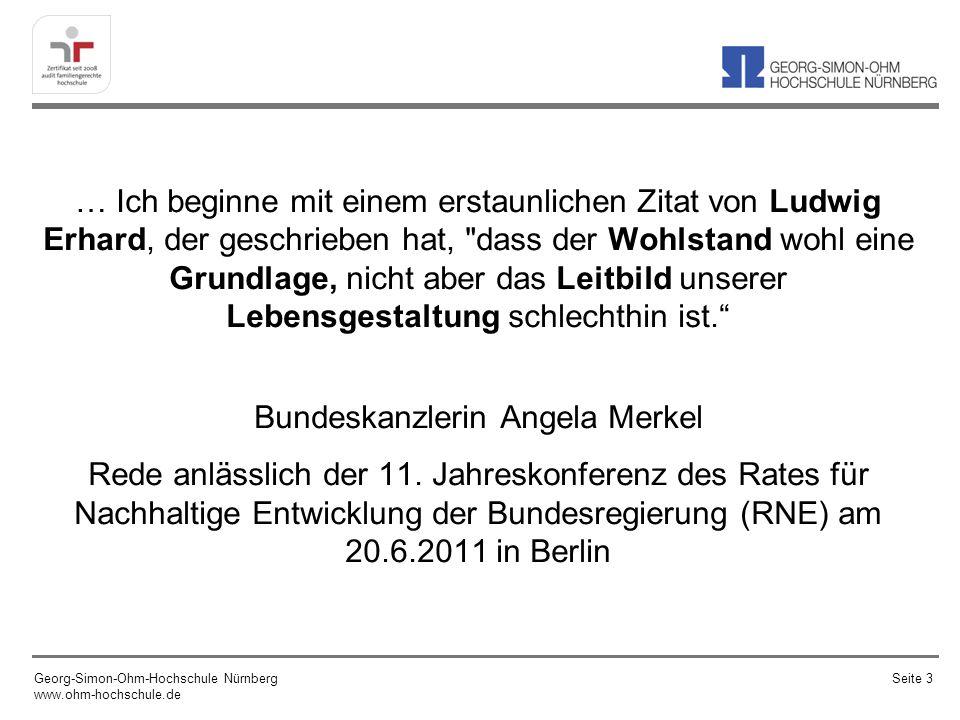 … Ich beginne mit einem erstaunlichen Zitat von Ludwig Erhard, der geschrieben hat,