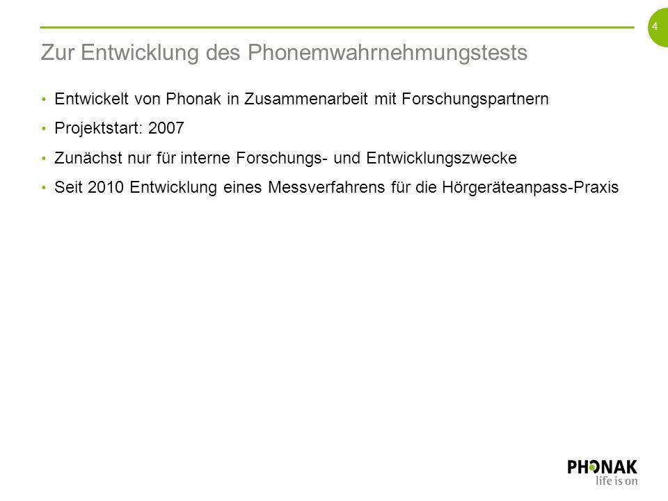 Aufbau und Durchführung des Phonemwahrnehmungstests 3