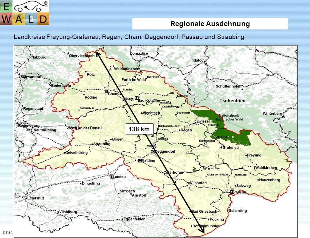 peter.sperber@fh-deggendorf.deJuli 2011 www.fhd.edu Regionale Ausdehnung Landkreise Freyung-Grafenau, Regen, Cham, Deggendorf, Passau und Straubing 13