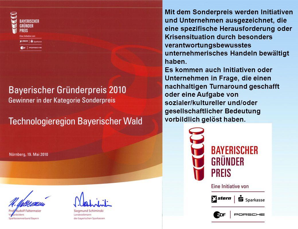 peter.sperber@fh-deggendorf.deJuli 2011 www.fhd.edu Mit dem Sonderpreis werden Initiativen und Unternehmen ausgezeichnet, die eine spezifische Herausf
