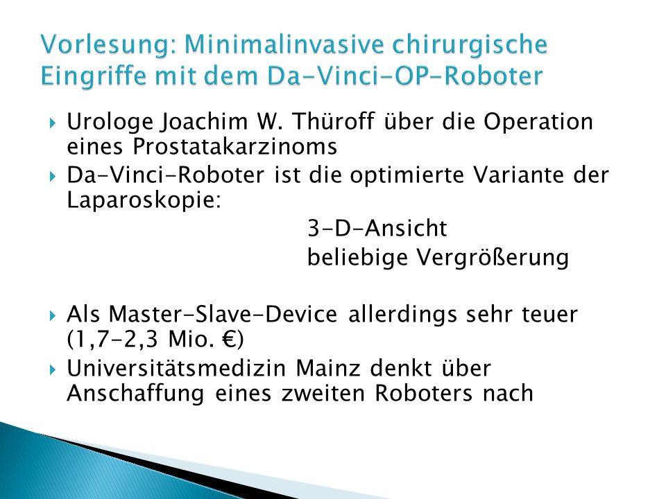 Urologe Joachim W.