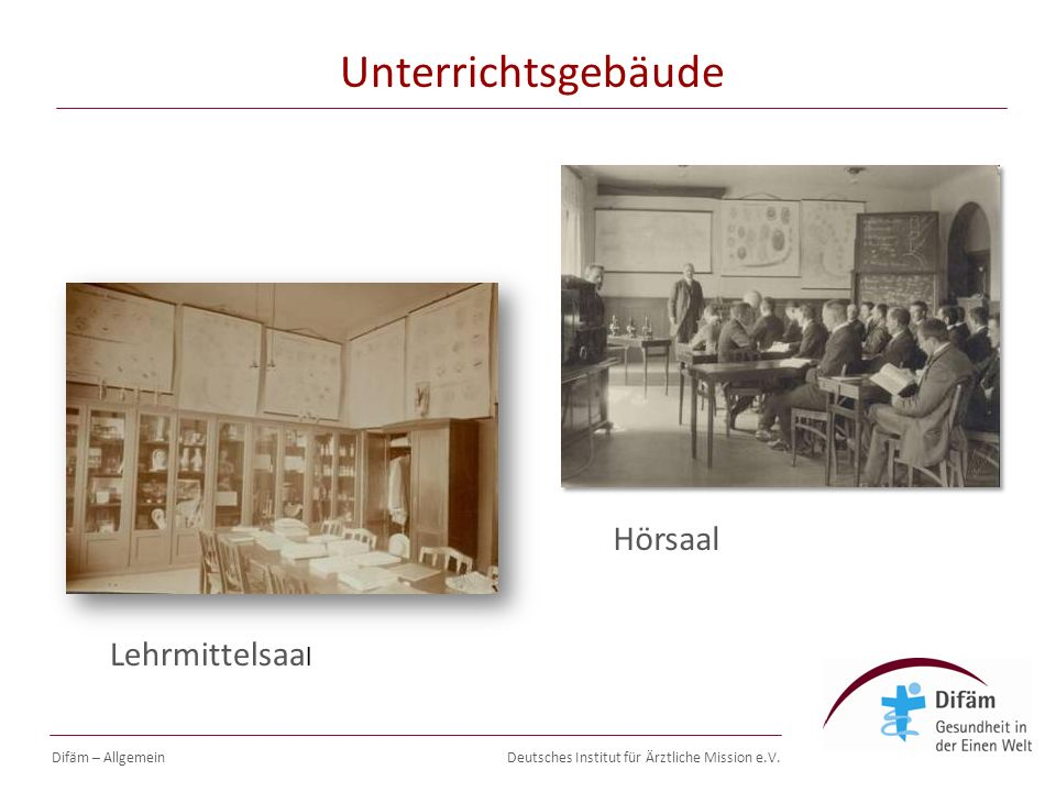 Deutsches Institut für Ärztliche Mission e.V. Difäm Seminare Difäm – Allgemein