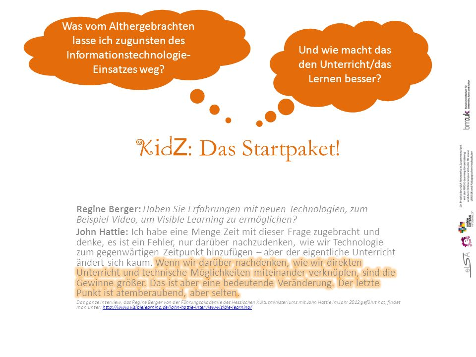 K i d Z : Das Startpaket.