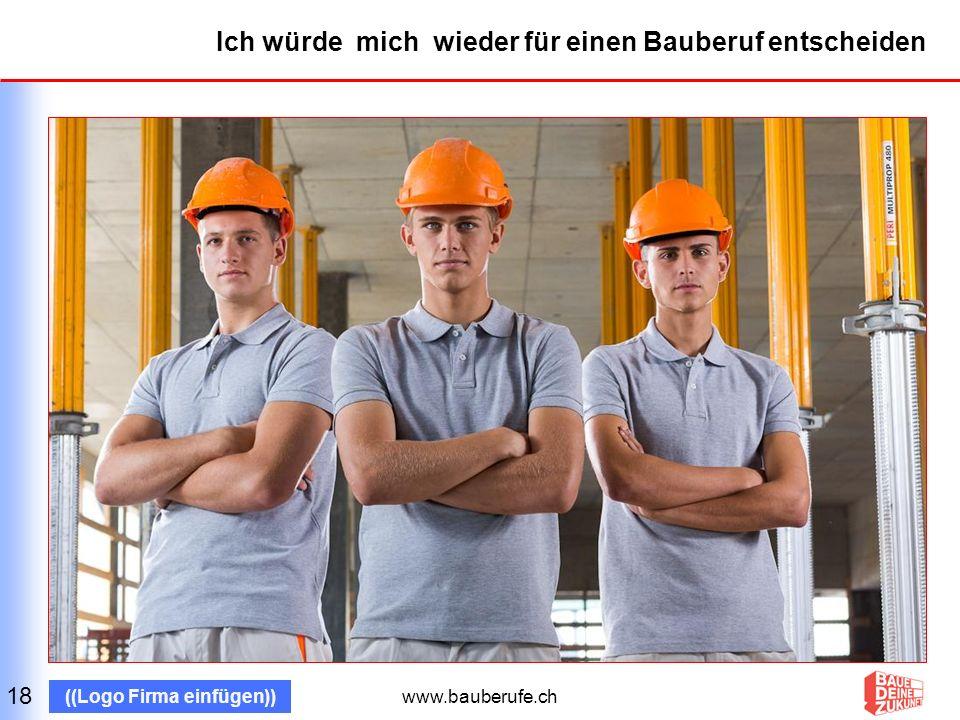www.bauberufe.ch ((Logo Firma einfügen)) Danke für euer Interesse.