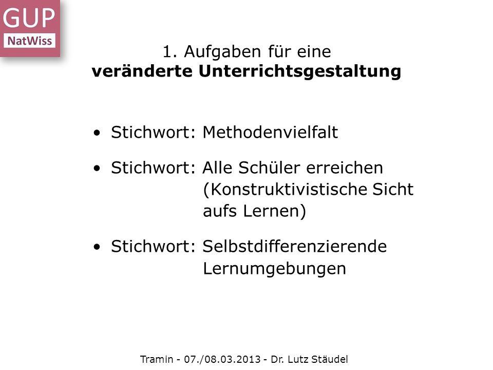 Gestufte Hilfen Tramin - 07./08.03.2013 - Dr.