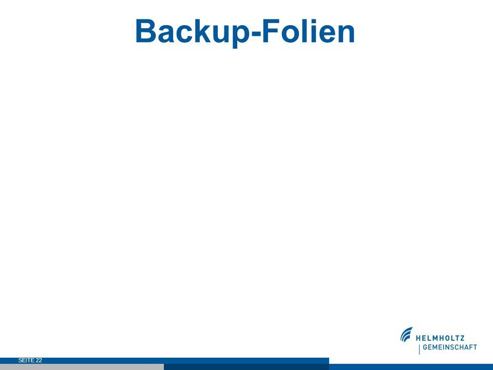 Backup-Folien SEITE 22