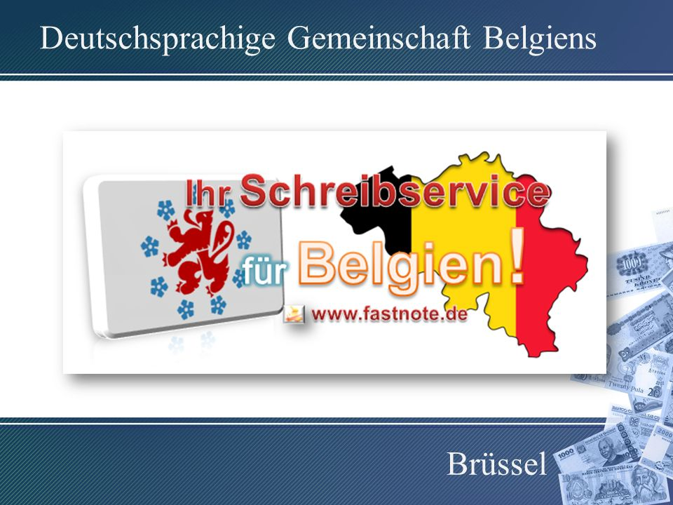 Deutschsprachige Gemeinschaft Belgiens Brüssel