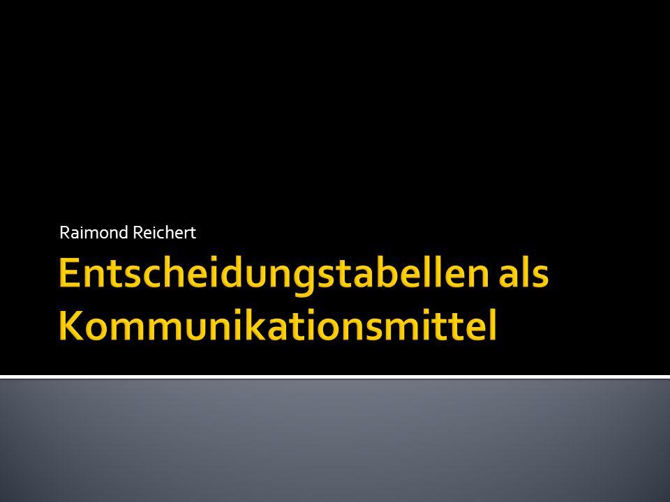 Tabelle wächst horizontal mit Anzahl Regeln Beispiel adaptiert von www.informit.de