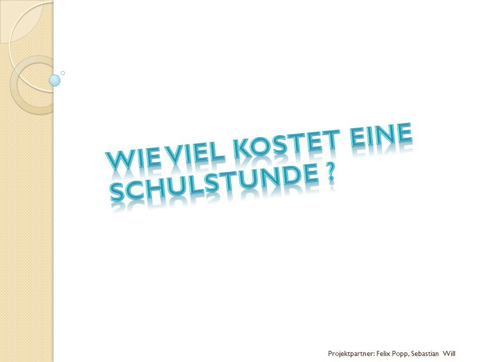 Projektpartner: Felix Popp, Sebastian Will