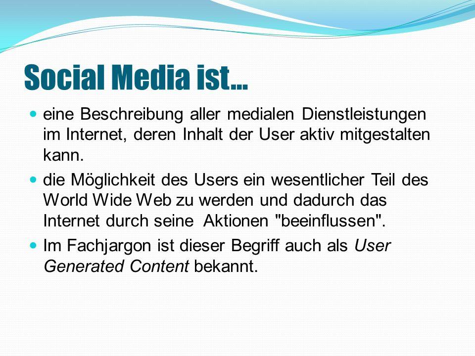 Nur so laufen sie nicht Gefahr, den neuen Trend Social Media, zu versäumen und weit hinter der Konkurrenz zu bleiben.