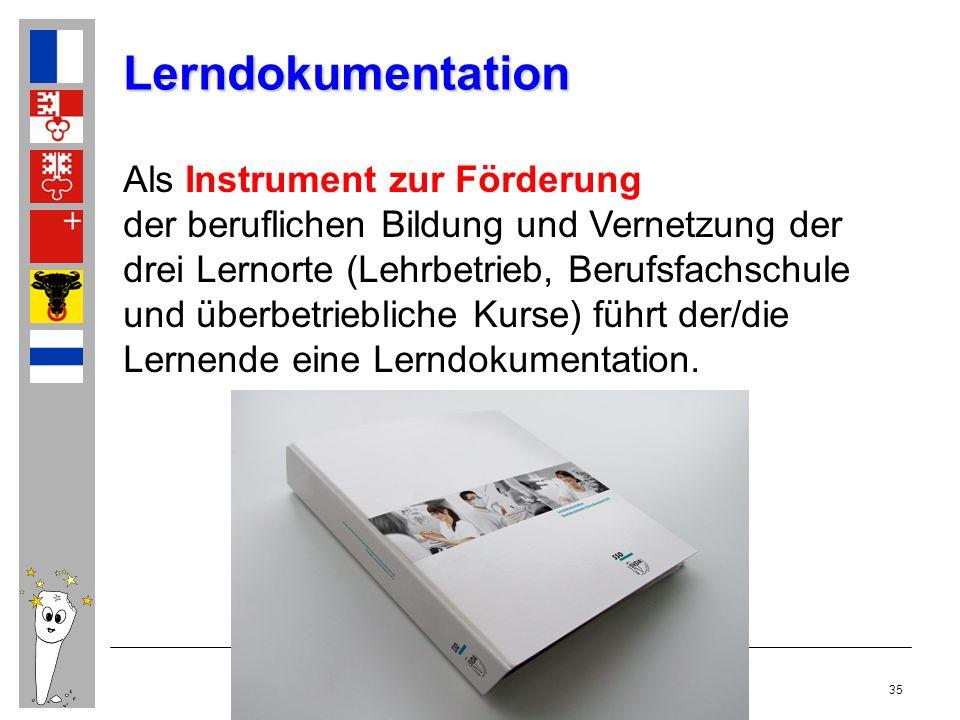 Kurs Als Instrument zur Förderung der beruflichen Bildung und Vernetzung der drei Lernorte (Lehrbetrieb, Berufsfachschule und überbetriebliche Kurse)