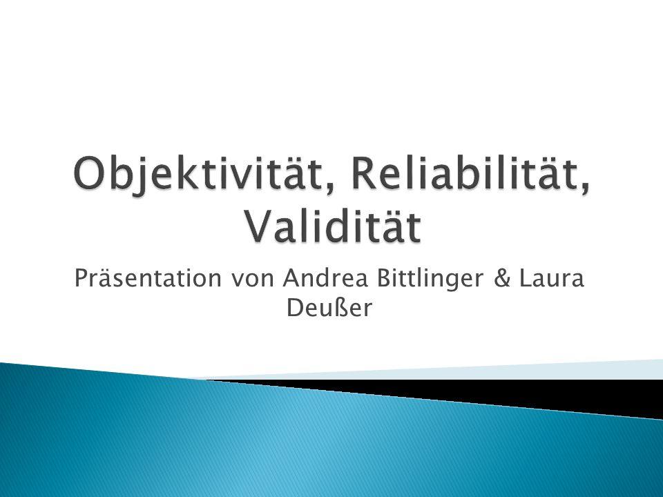 Präsentation von Andrea Bittlinger & Laura Deußer