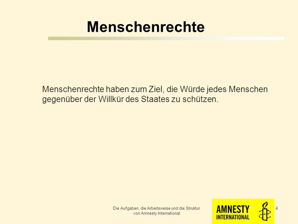 Menschenrechte Menschenrechte sind Rechte des Menschen gegenüber dem Staat.