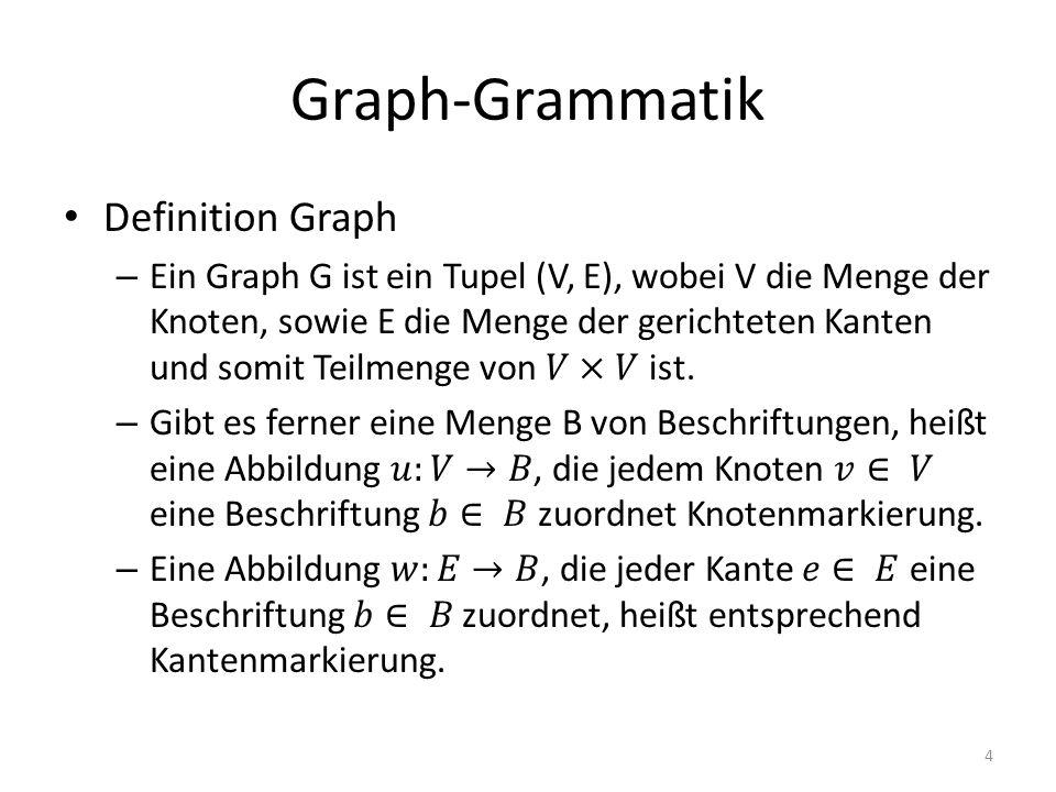 Graph-Grammatik 4