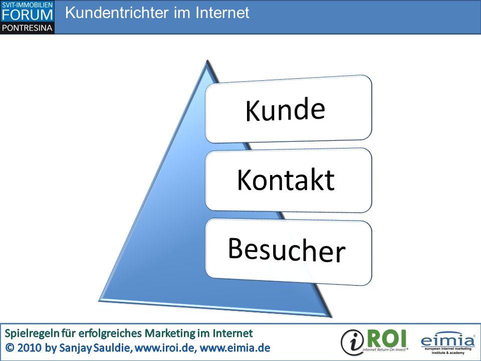 Kundentrichter im Internet