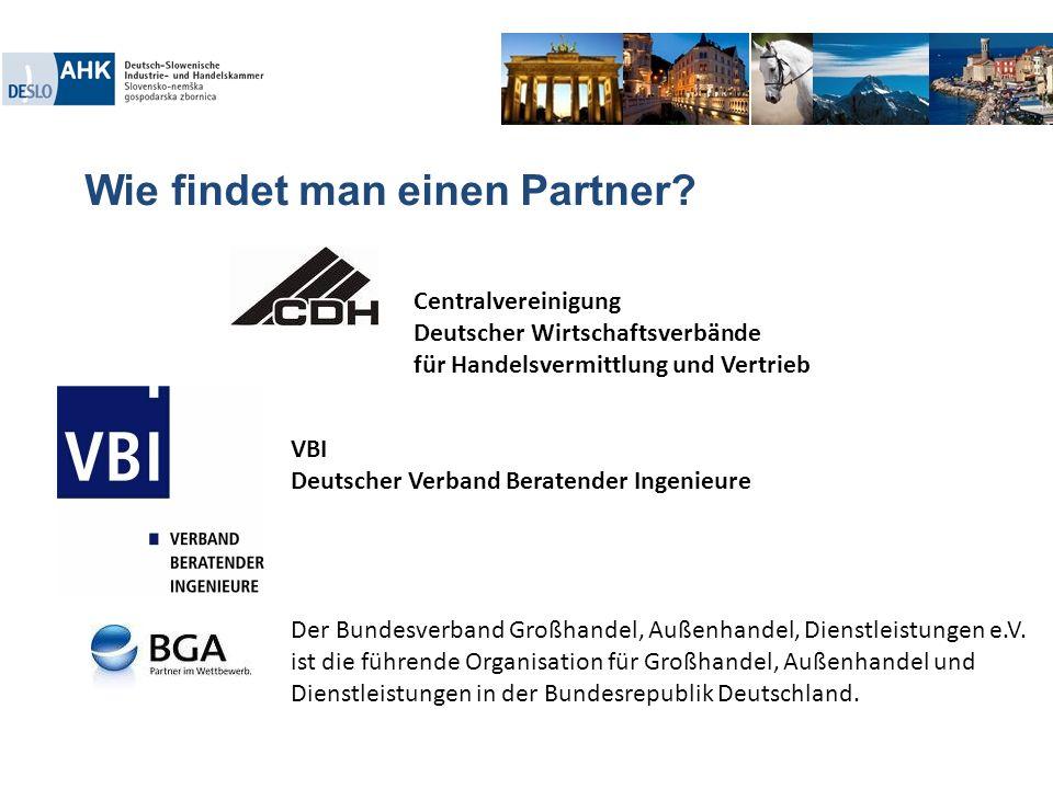 Wie findet man einen Partner?. Der Bundesverband Großhandel, Außenhandel, Dienstleistungen e.V. ist die führende Organisation für Großhandel, Außenhan
