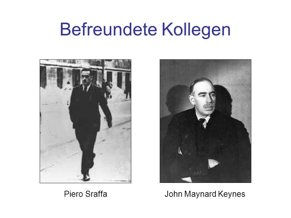 Folie 5-1: Wittgensteins Freunde Befreundete Kollegen Piero Sraffa John Maynard Keynes