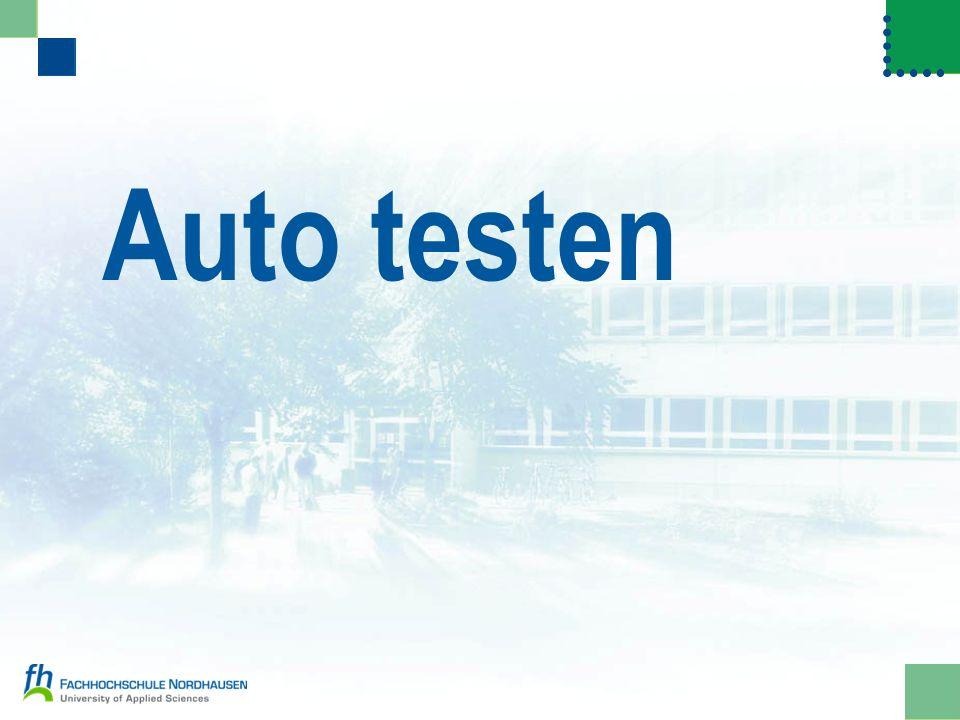 Auto testen
