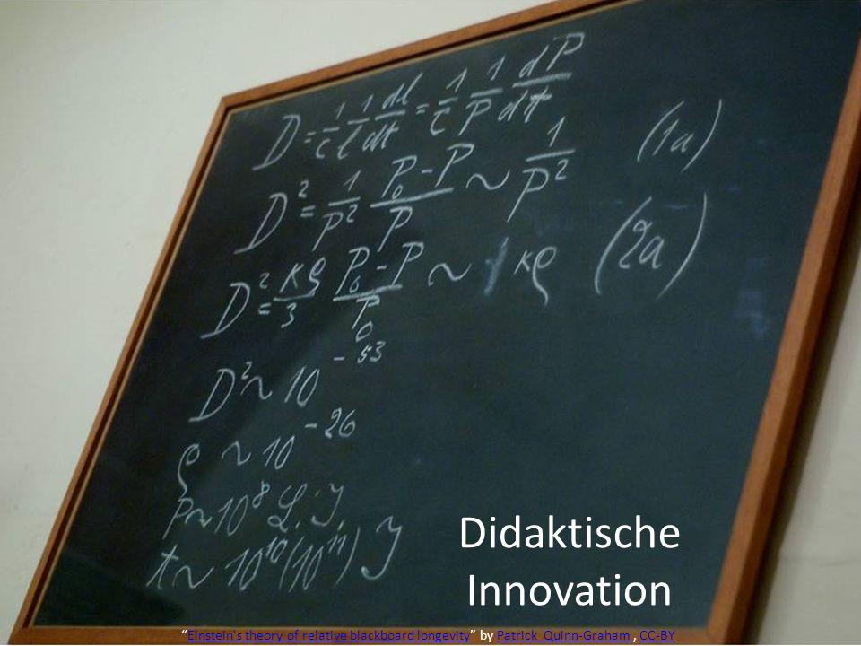 Didaktische Innovation Einstein's theory of relative blackboard longevity by Patrick Quinn-Graham, CC-BYEinstein's theory of relative blackboard longe