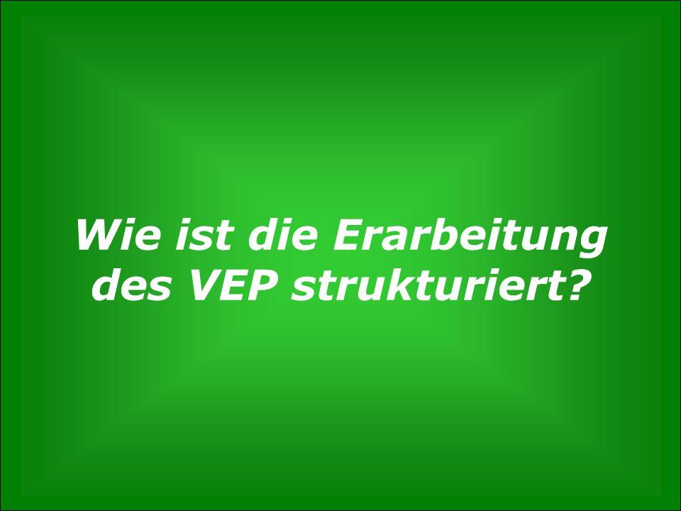 S. 13 Wie entsteht der Verkehrsentwicklungsplan? Gunnar Polzin, 3. Mai 2012 Wie ist die Erarbeitung des VEP strukturiert?