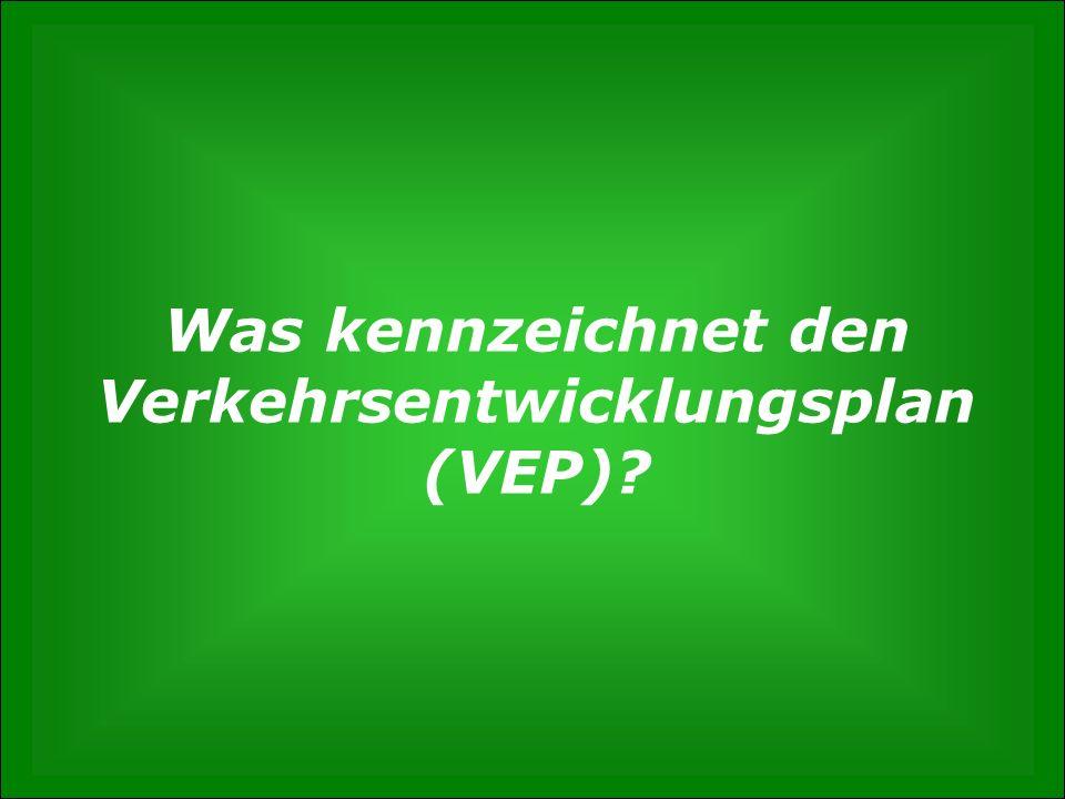 S. 2 Wie entsteht der Verkehrsentwicklungsplan? Gunnar Polzin, 3. Mai 2012 Was kennzeichnet den Verkehrsentwicklungsplan (VEP)?