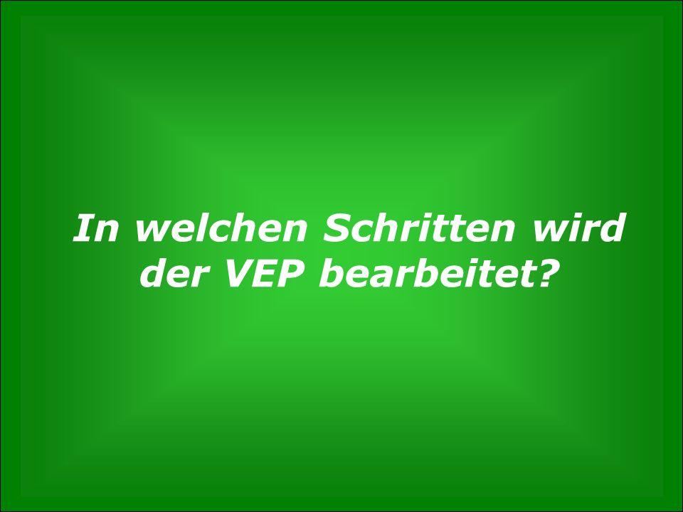 S. 6 Wie entsteht der Verkehrsentwicklungsplan? Gunnar Polzin, 3. Mai 2012 In welchen Schritten wird der VEP bearbeitet?