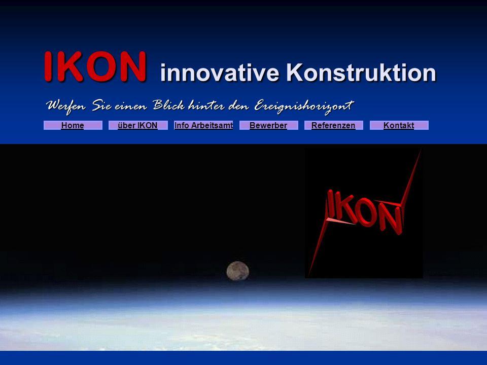 IKON innovative Konstruktion IKON - Ingenieurbüro für Maschinenbau - Anlagenbau Herzlich willkommen Die Firma IKON innovative Konstruktion wurde 1989 von Herrn Heinz F.
